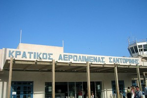Santorini Lentokenttä